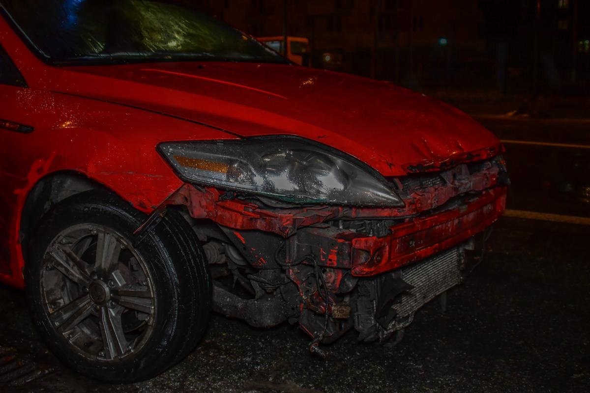 У водителя и пассажиров в итоге получились разные версии причины аварии