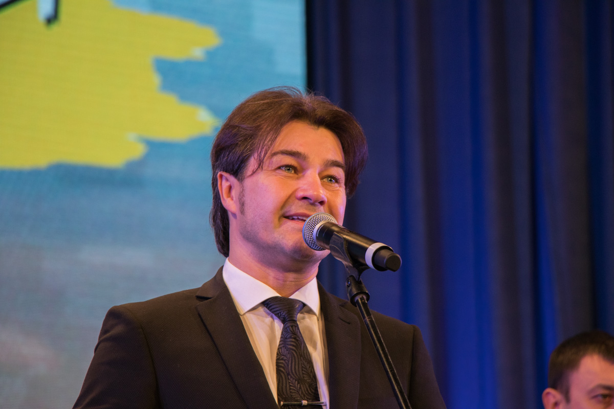 Министр культуры Украины Евгений Нищук