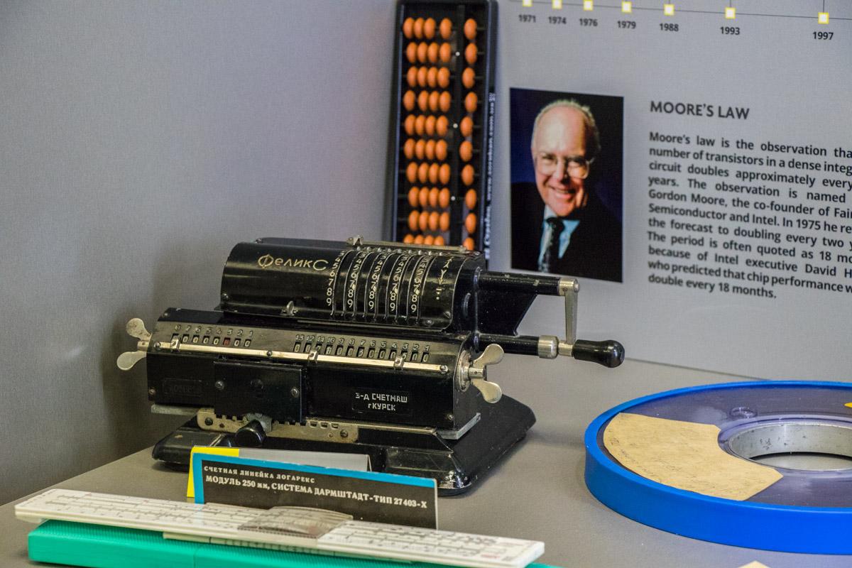 Первый в мире калькулятор