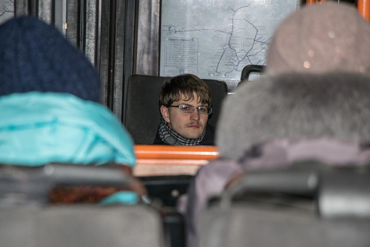 Задумчивый пассажир