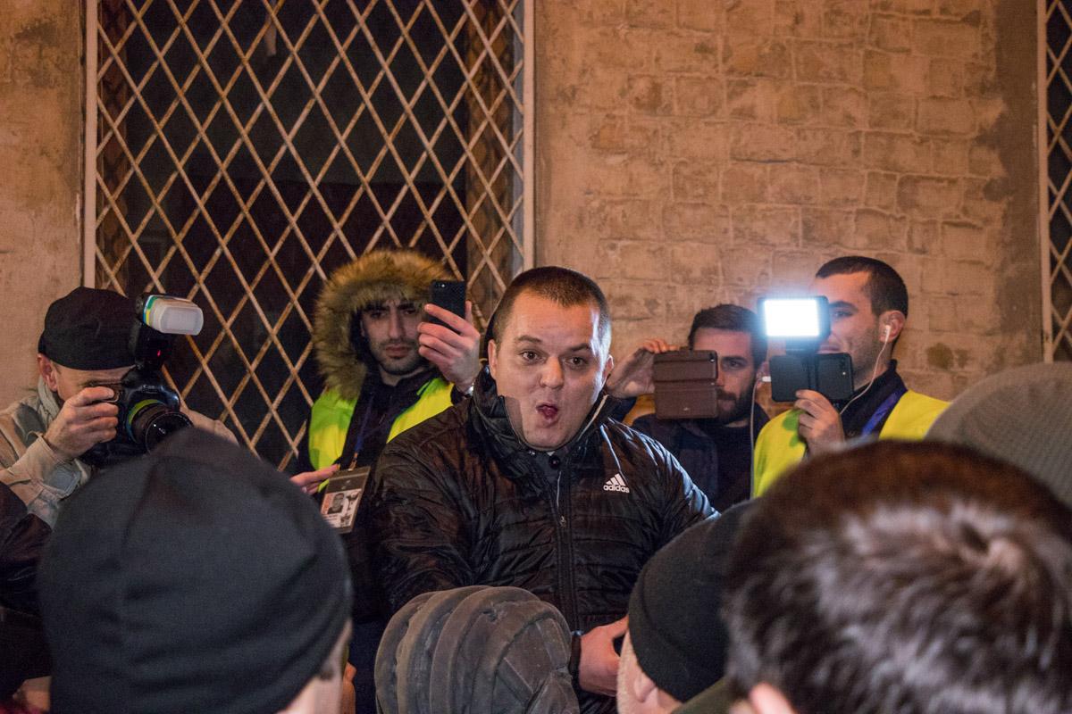 Активисты призывали киевлян не сидеть дома