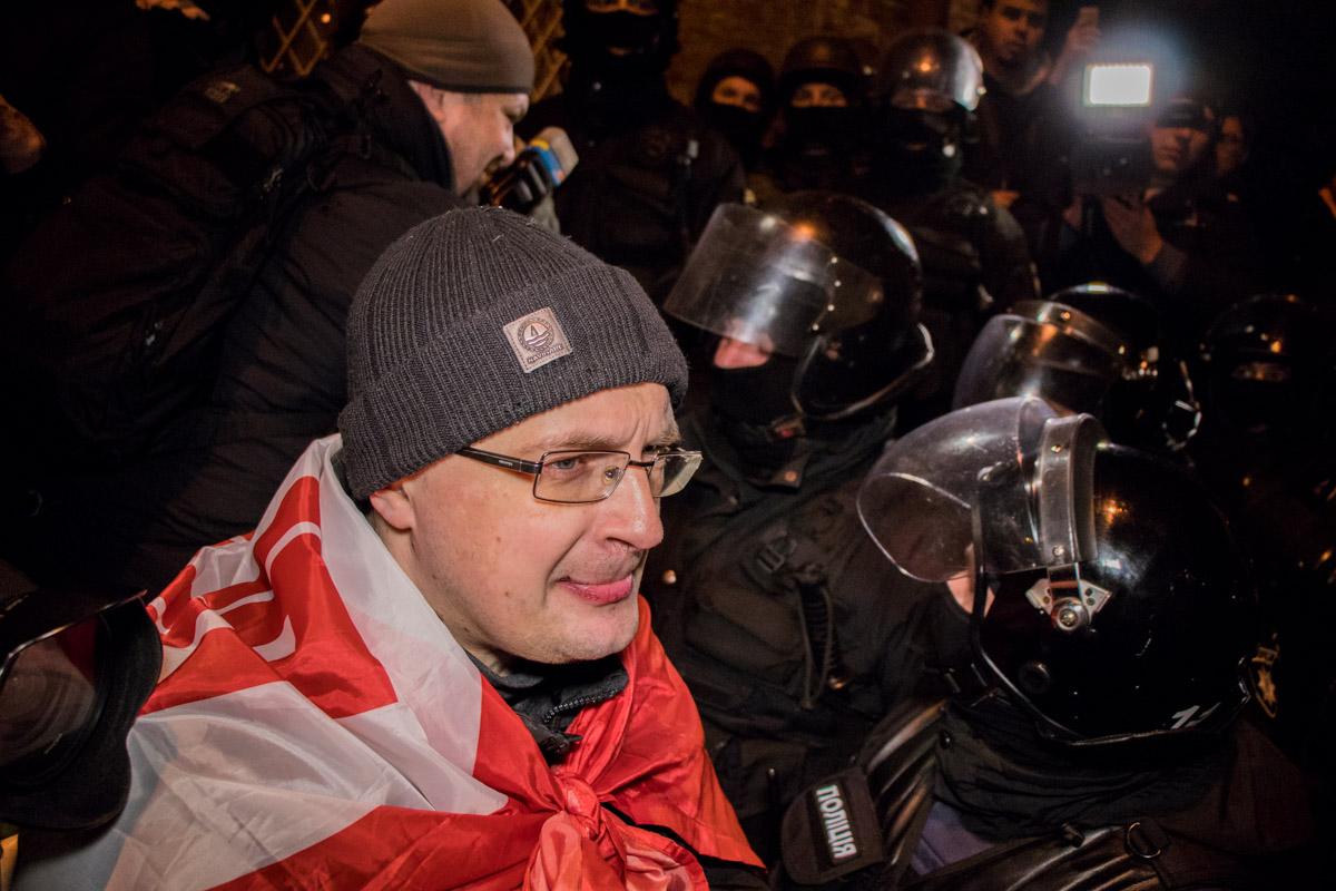 Активисты считают, что Сакаашвили должны отпустить