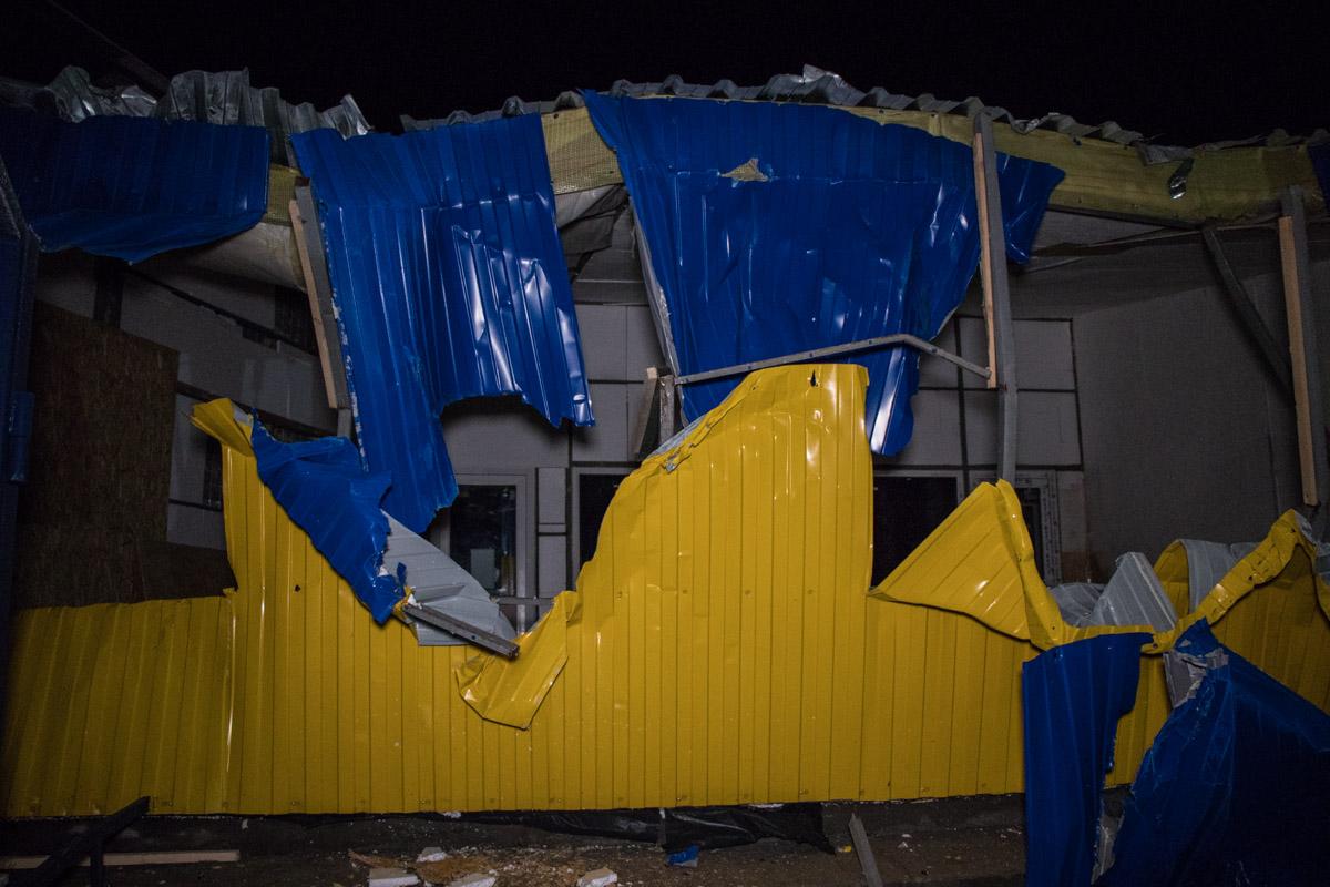 Как после торнадо