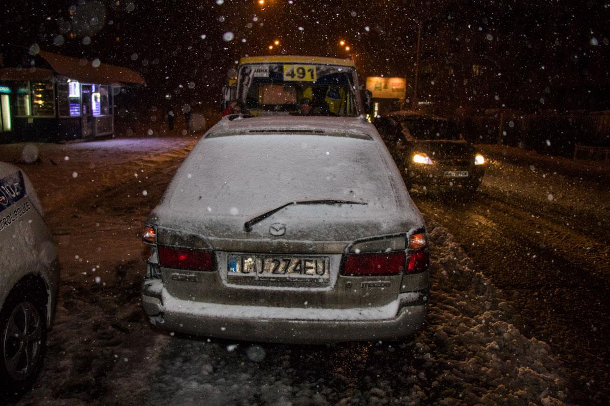 Mazda на польских номерах
