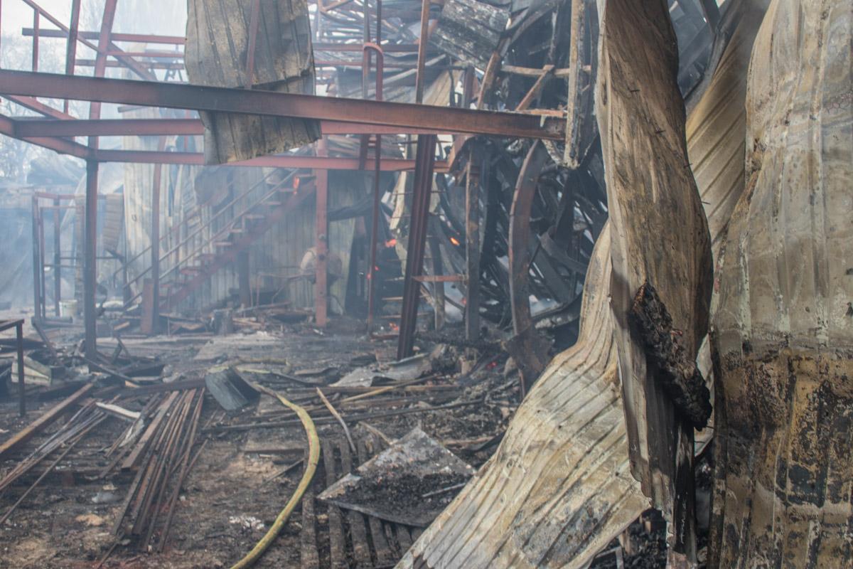 Во время пожара никто не пострадал