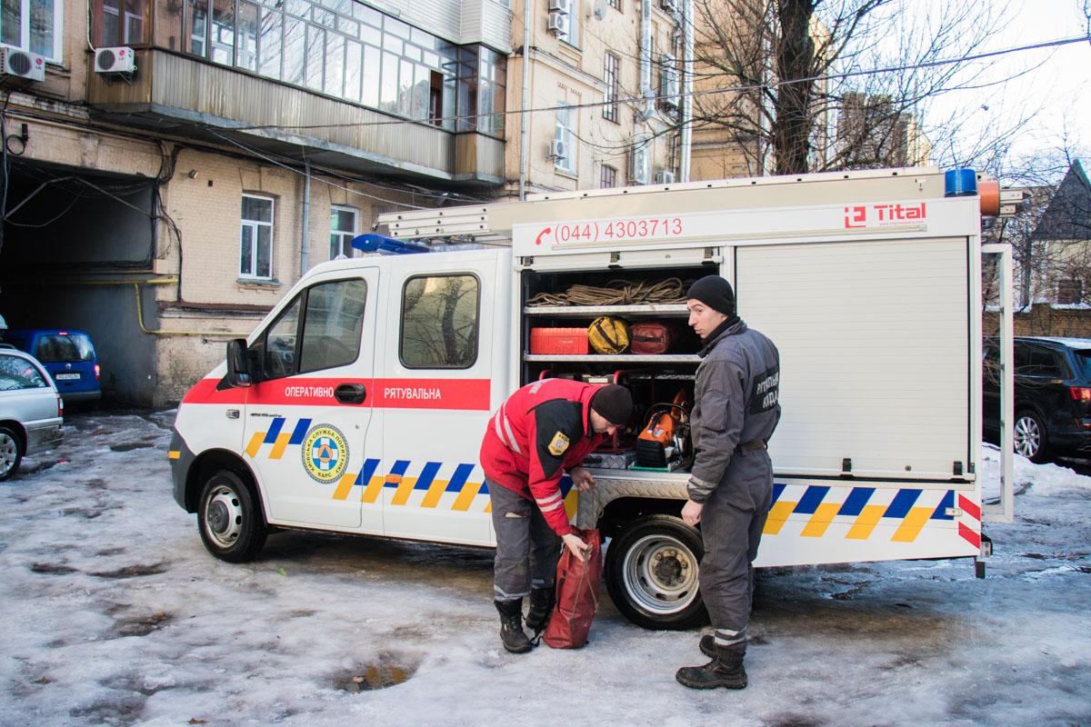 ВКиеве из-за обвала стены без газа остались 4 дома