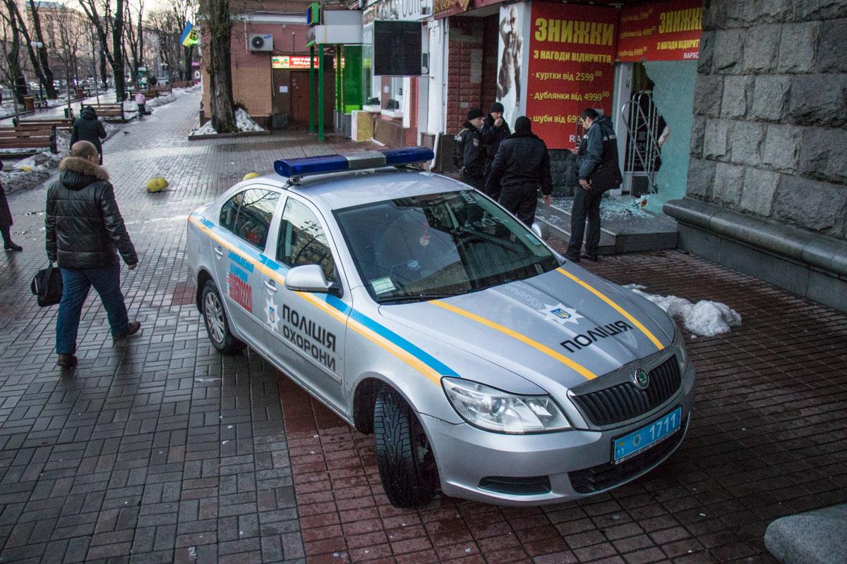 Полиция охраны прибыла на место через 4 минуты после того, как сработала сигнализация