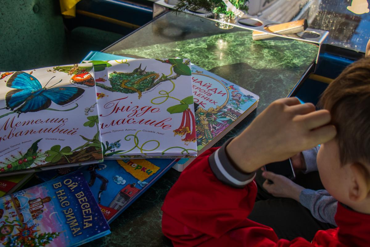 Детей приучали к чтению
