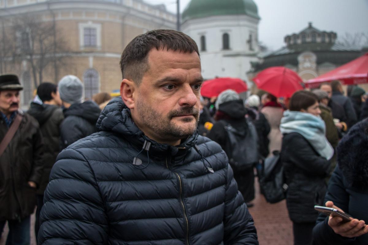 Глава всеукраинской сети людей, живущих со СПИДом Дмитрий Шерембей