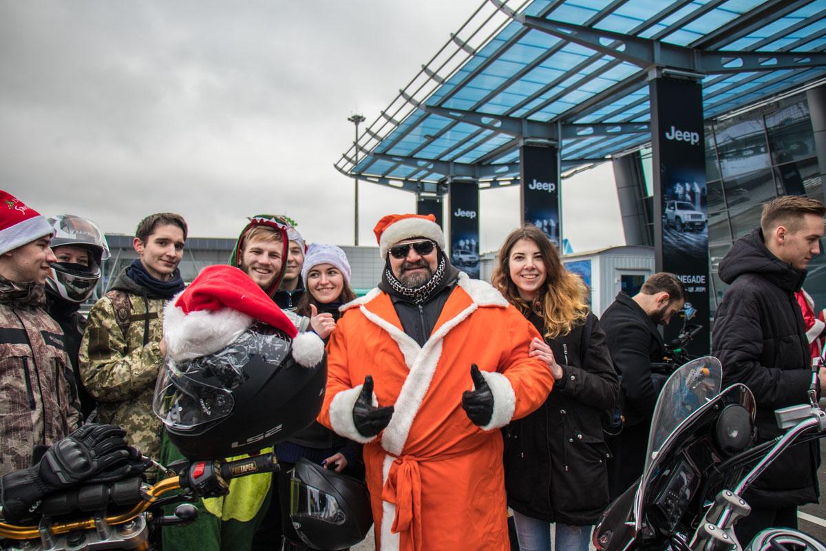 Василий Вирастюк - главная звезда мотопробега