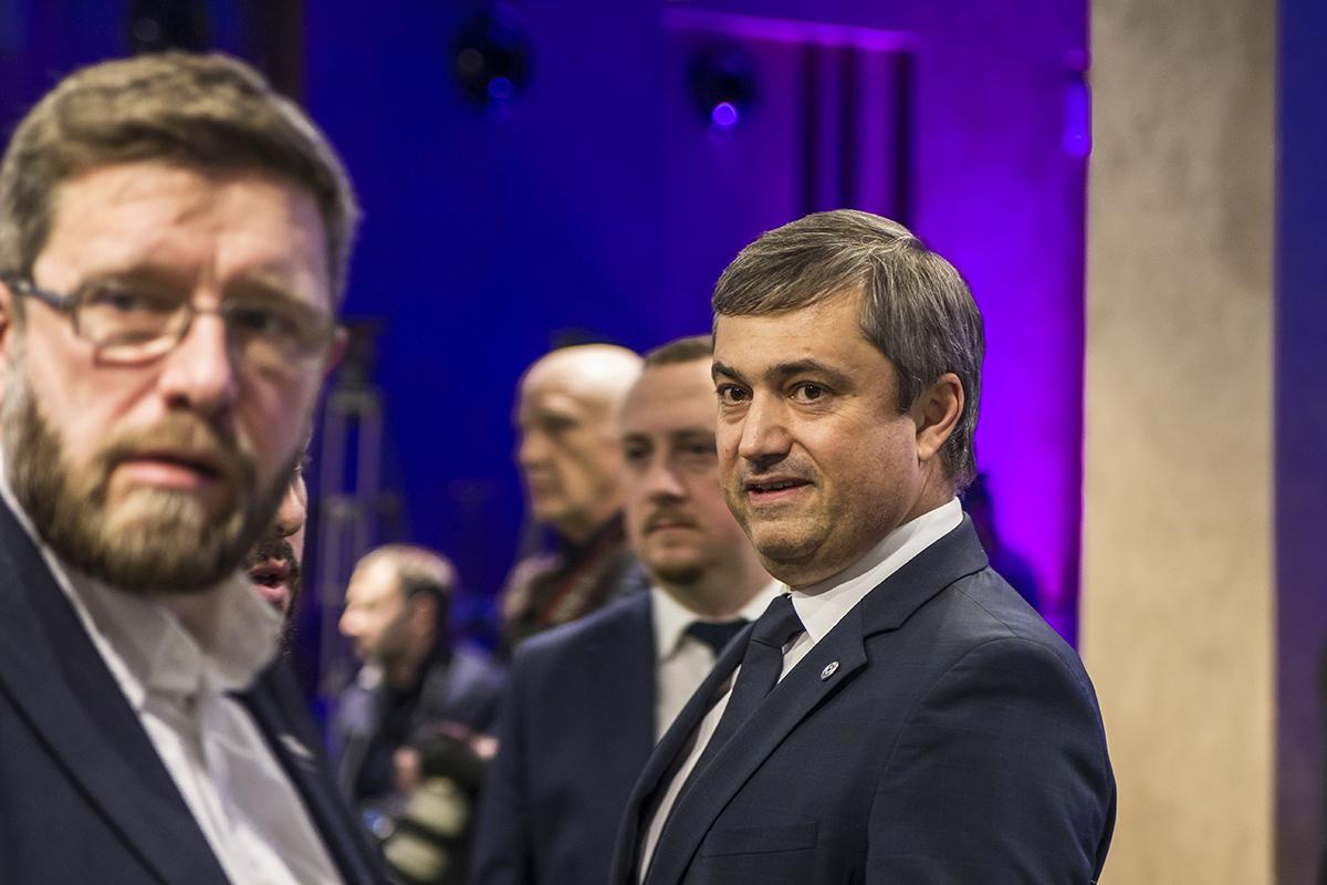 Вице-президенту ФФУ Вадиму Костюченко не понадобился даже диплом, чтобы прийти на презентацию