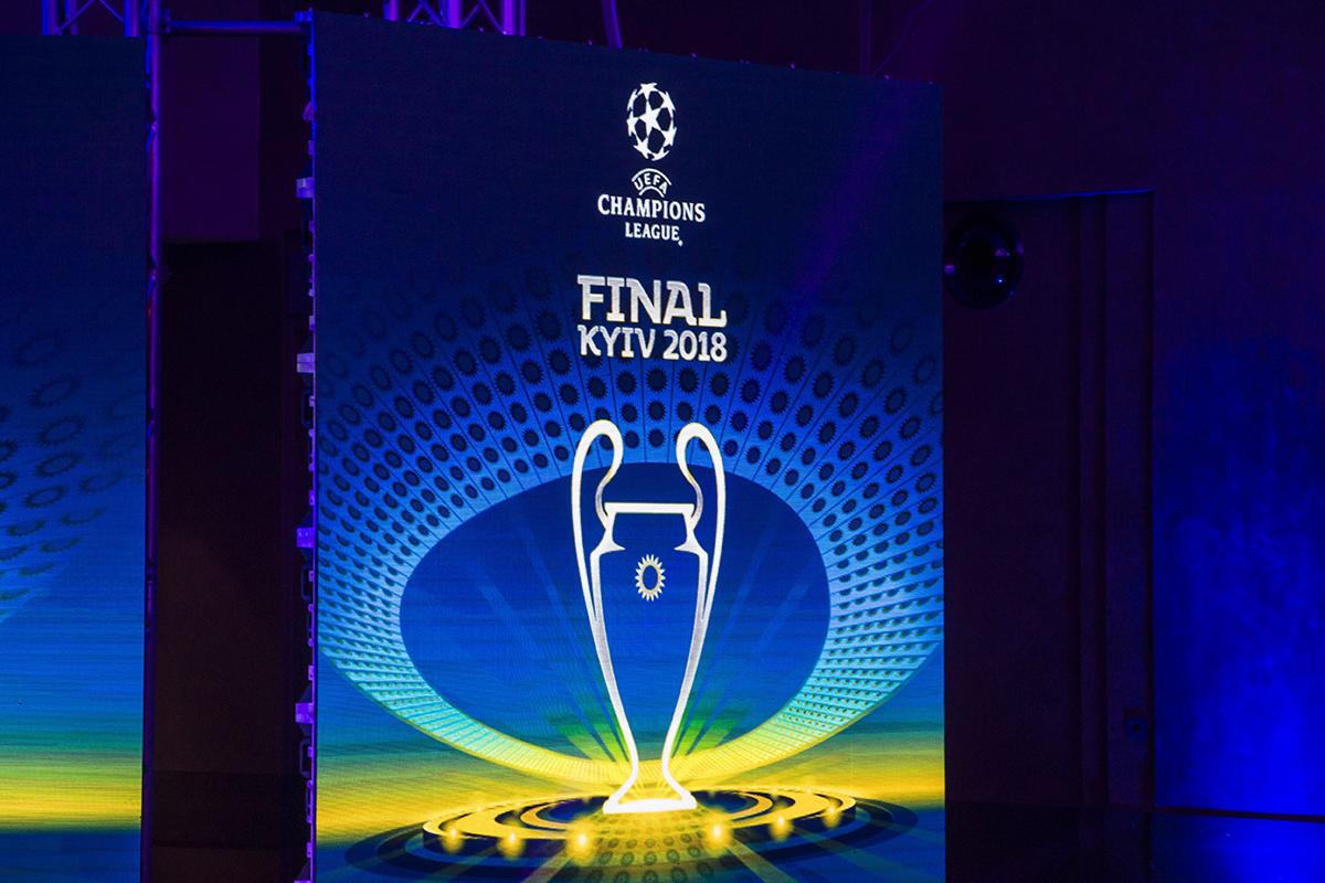 Мужской логотип финала Лиги чемпионов 2018