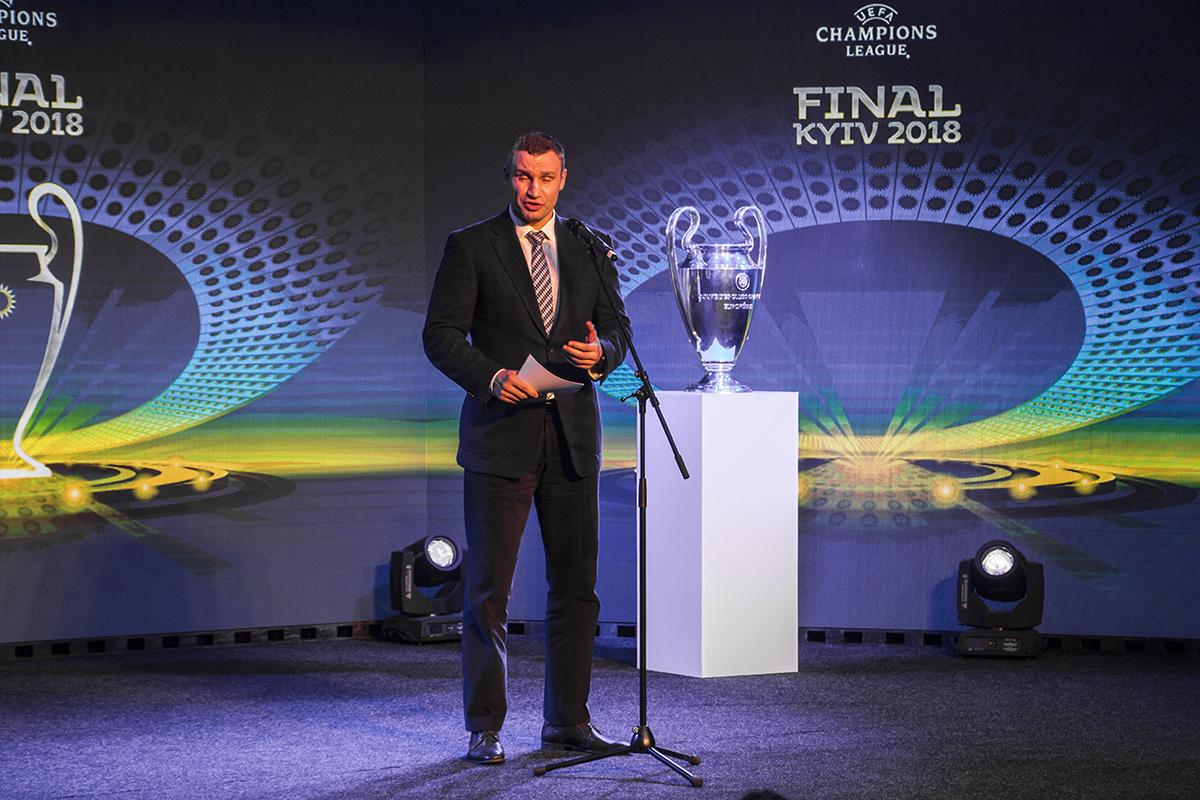 Также не обошлось без мэра Киева Виталия Кличко
