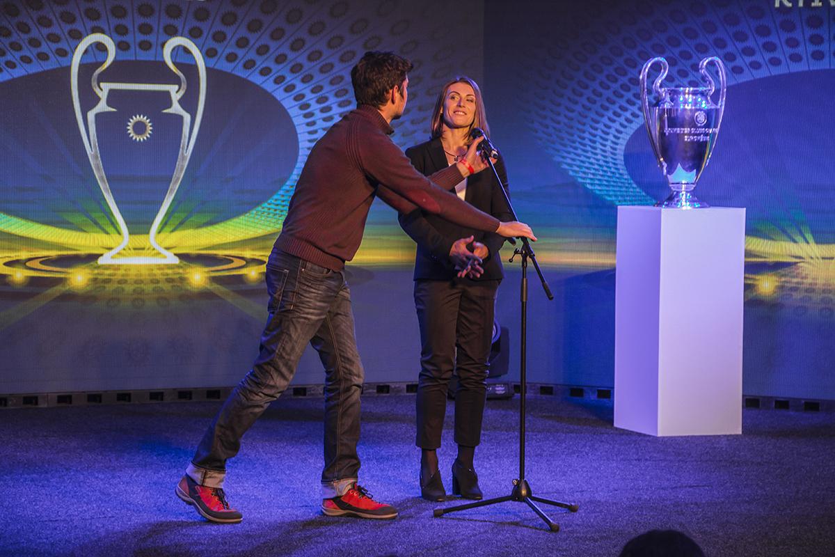 Амбассадор женской Лиги чемпионов Ия Андрущак