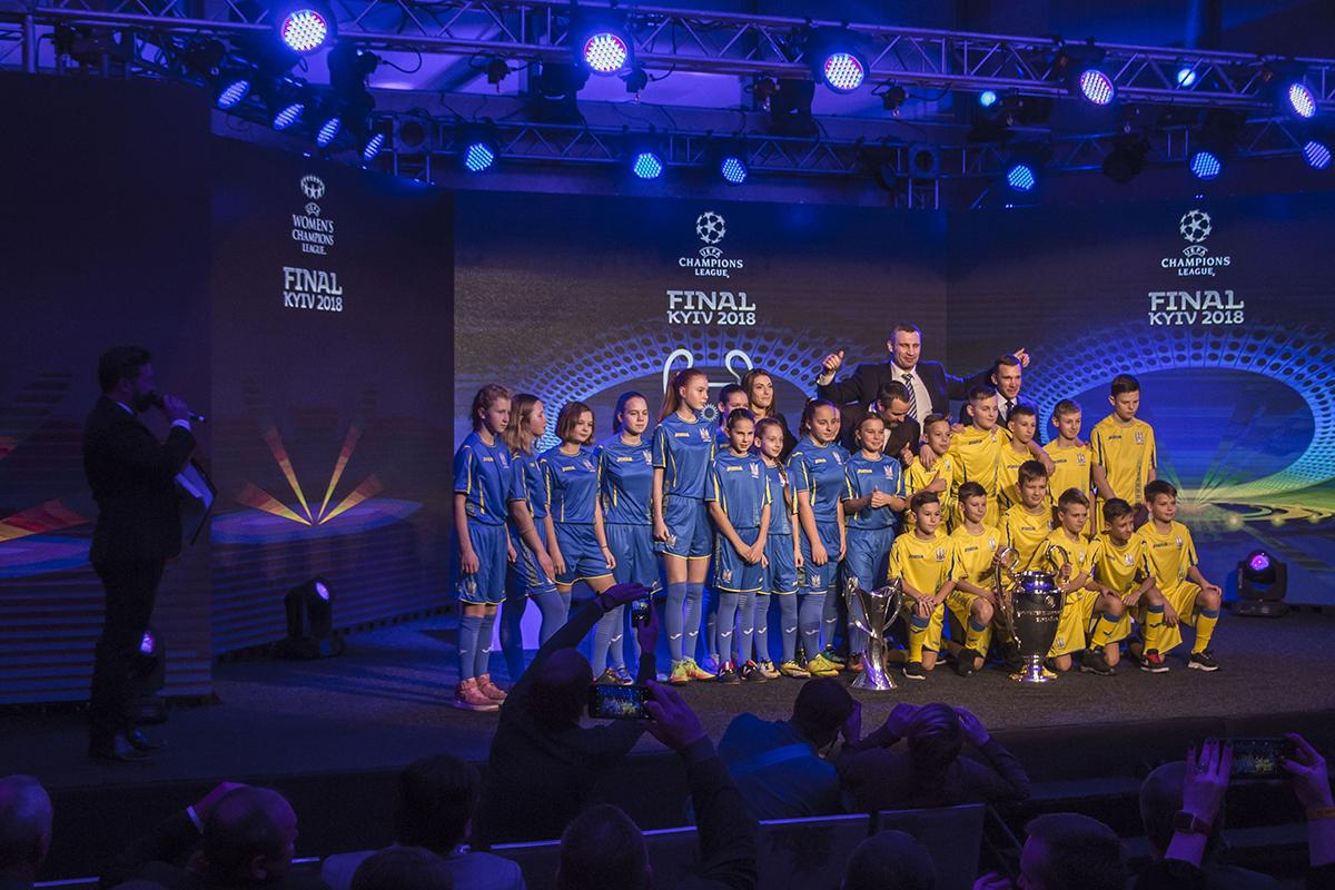 Подрастающее молодое поколение футболистов Украины