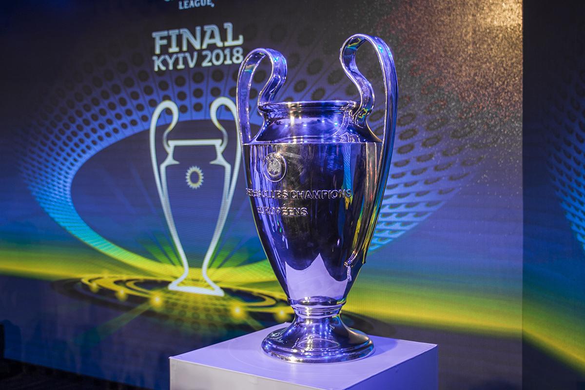 Победитель Лиги чемпионов увезет домой этого красавца