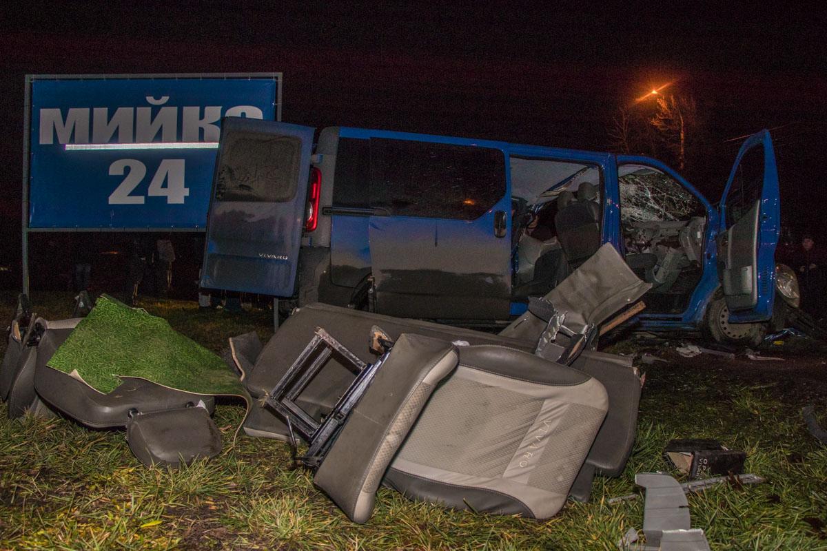 Opel значительно поврежден