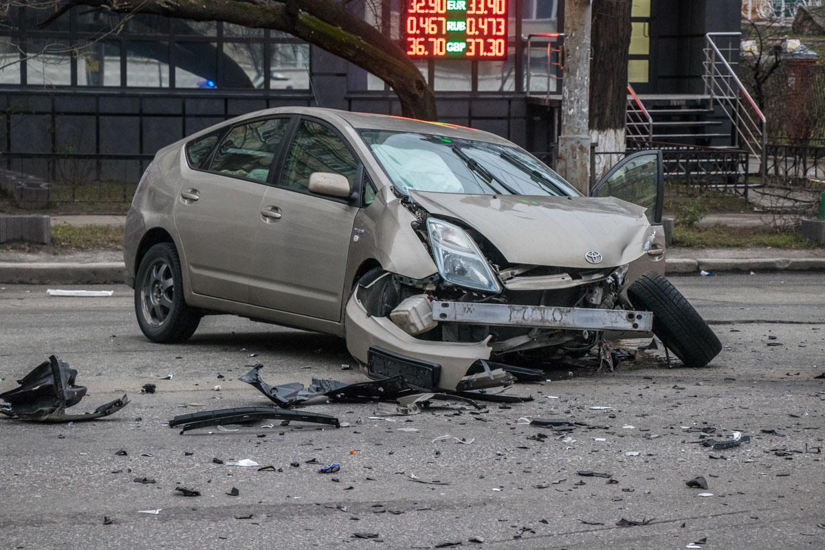 По предварительным данным, Toyota Prius подрезал Volkswagen