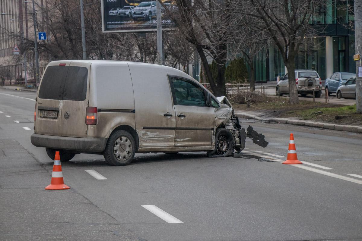 В результате ДТП водители не пострадали