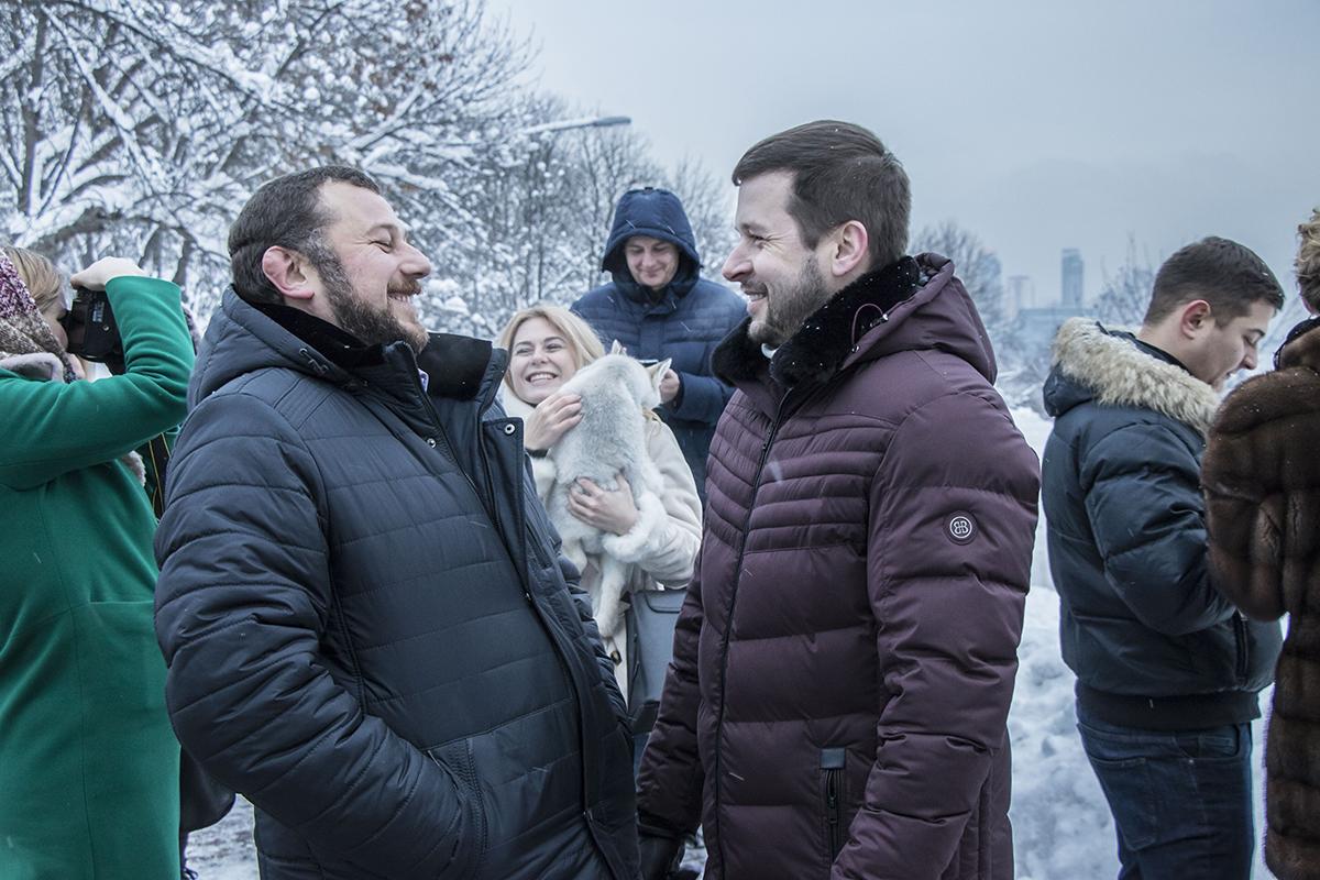 Также на мероприятии присутствовал директор департамента благоустройства КГГА Андрей Фищук