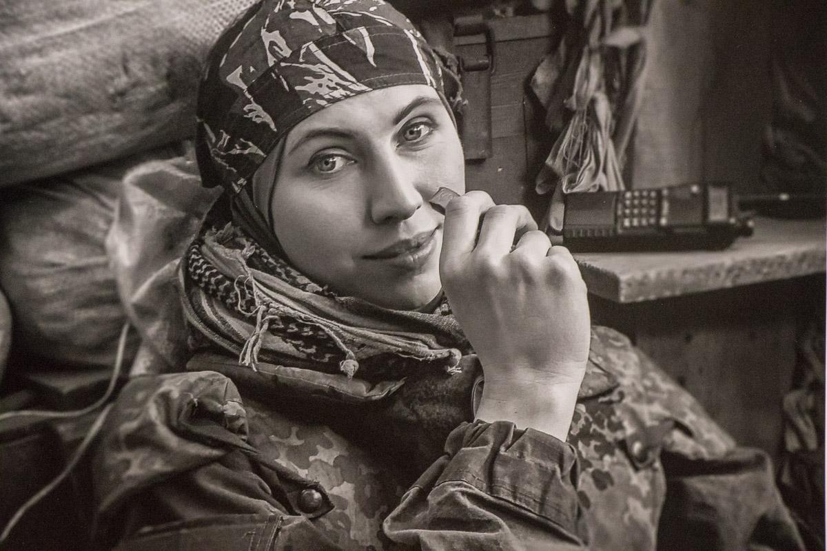 Лейтенант ВСУ даже не боялась отдать жизнь за любимого мужа: 1 июня 2017 года при покушении она спасла его от гибели