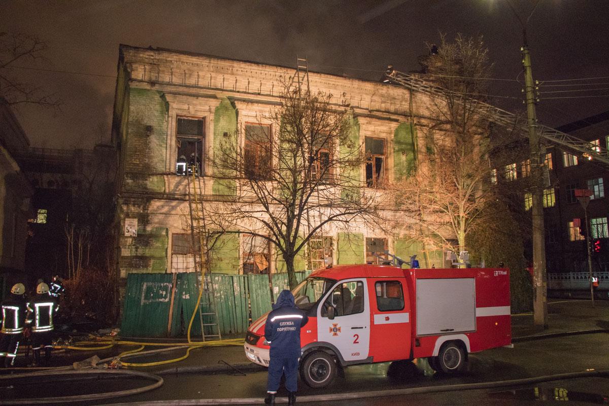 Здание заброшено