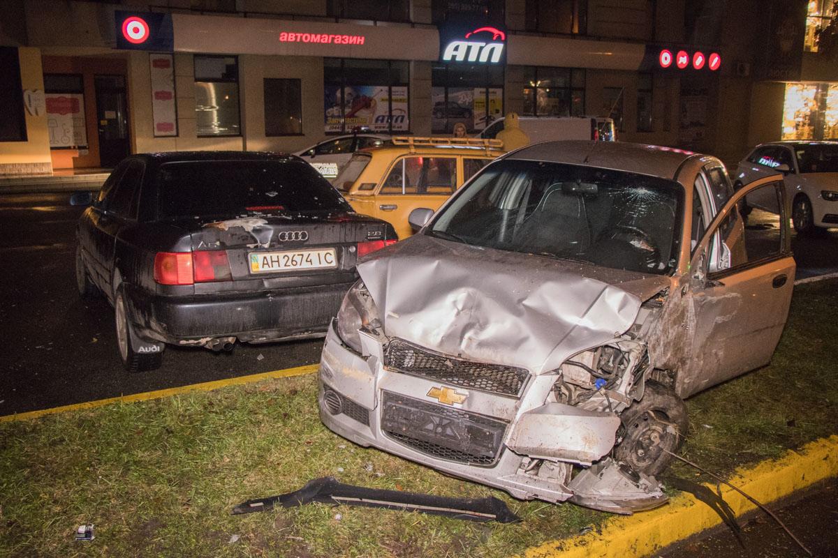 Автомобиль виновника ДТП получил самые сильные повреждения