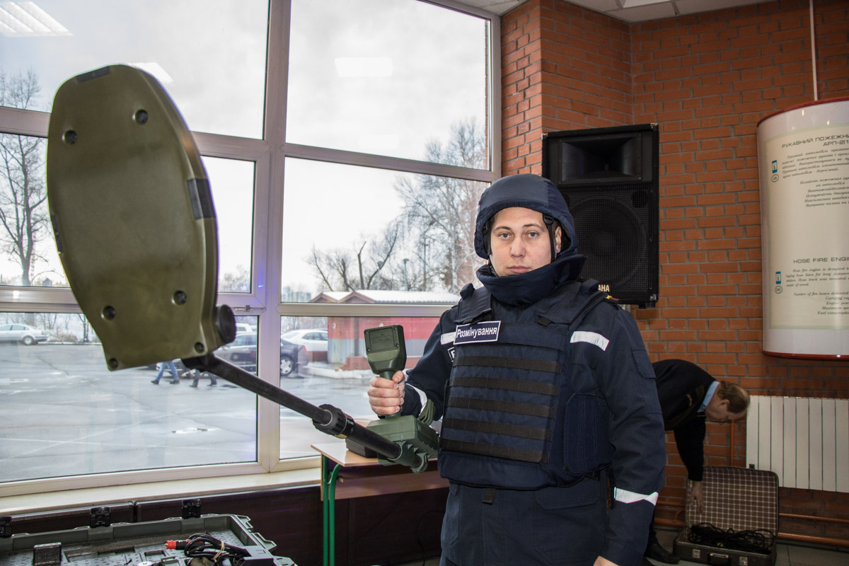 ГСЧСникам передали 4 георадара-детектора