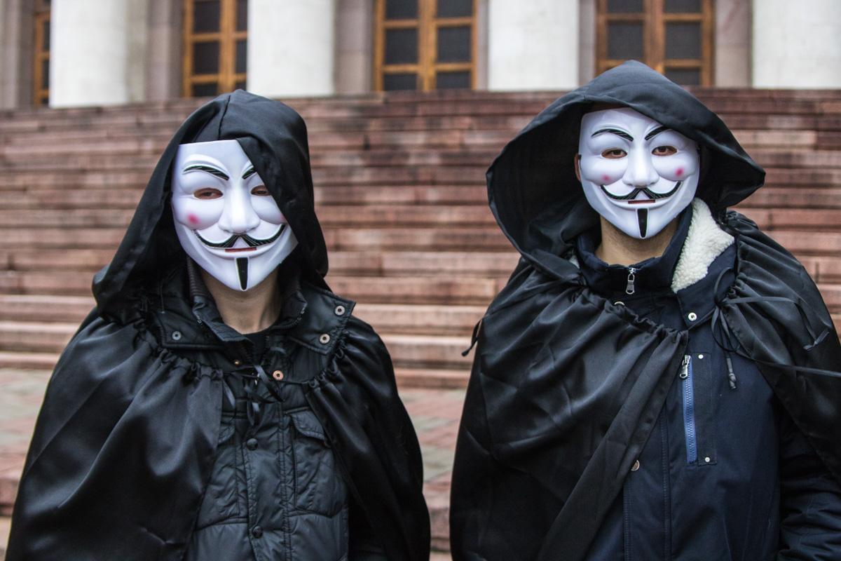 Студенты киевских вузов собрались на вручение антипремии «Золотой Буратино»