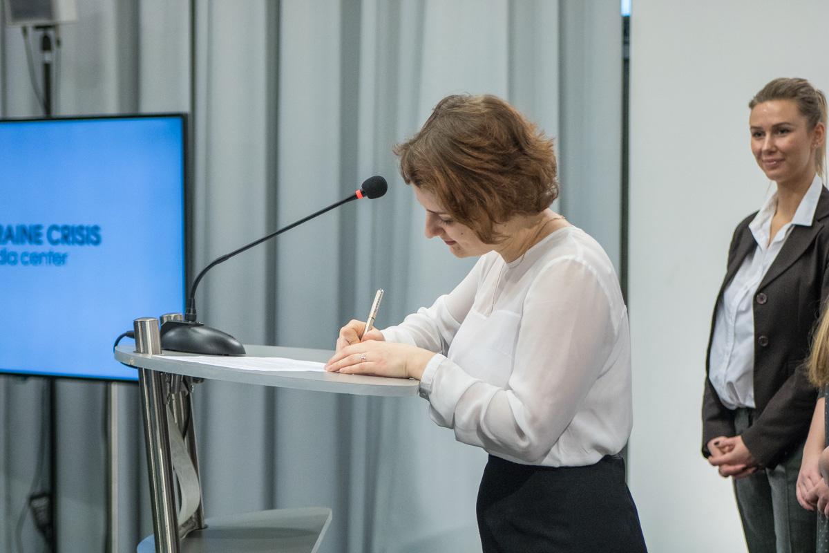 Участники обязались соблюдать нулевую толерантность к сексизму в Украине