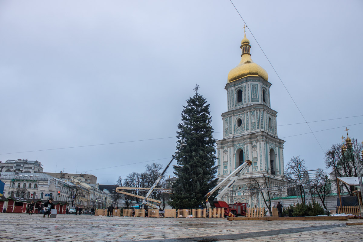 Так выглядит главная елка Киева в этом году