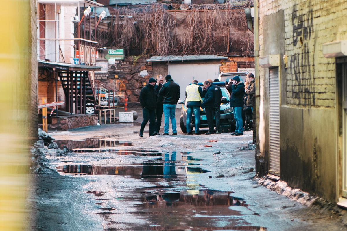 Злоумышленники пытались скрыться в переулке