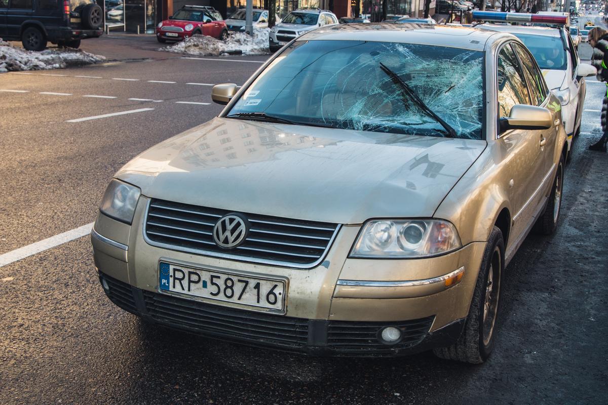 Автомобиль с польской регистрацией