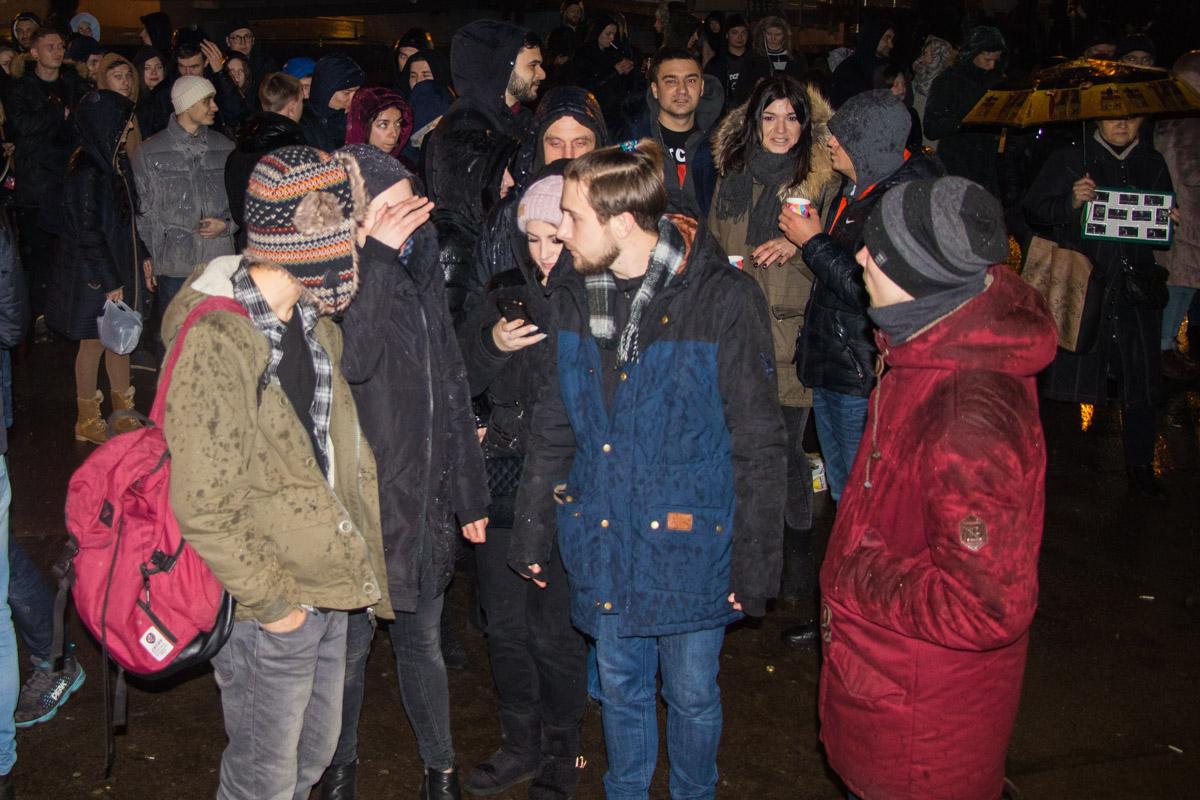 В Киеве дает концерт российский рэпер Oxxxymiron