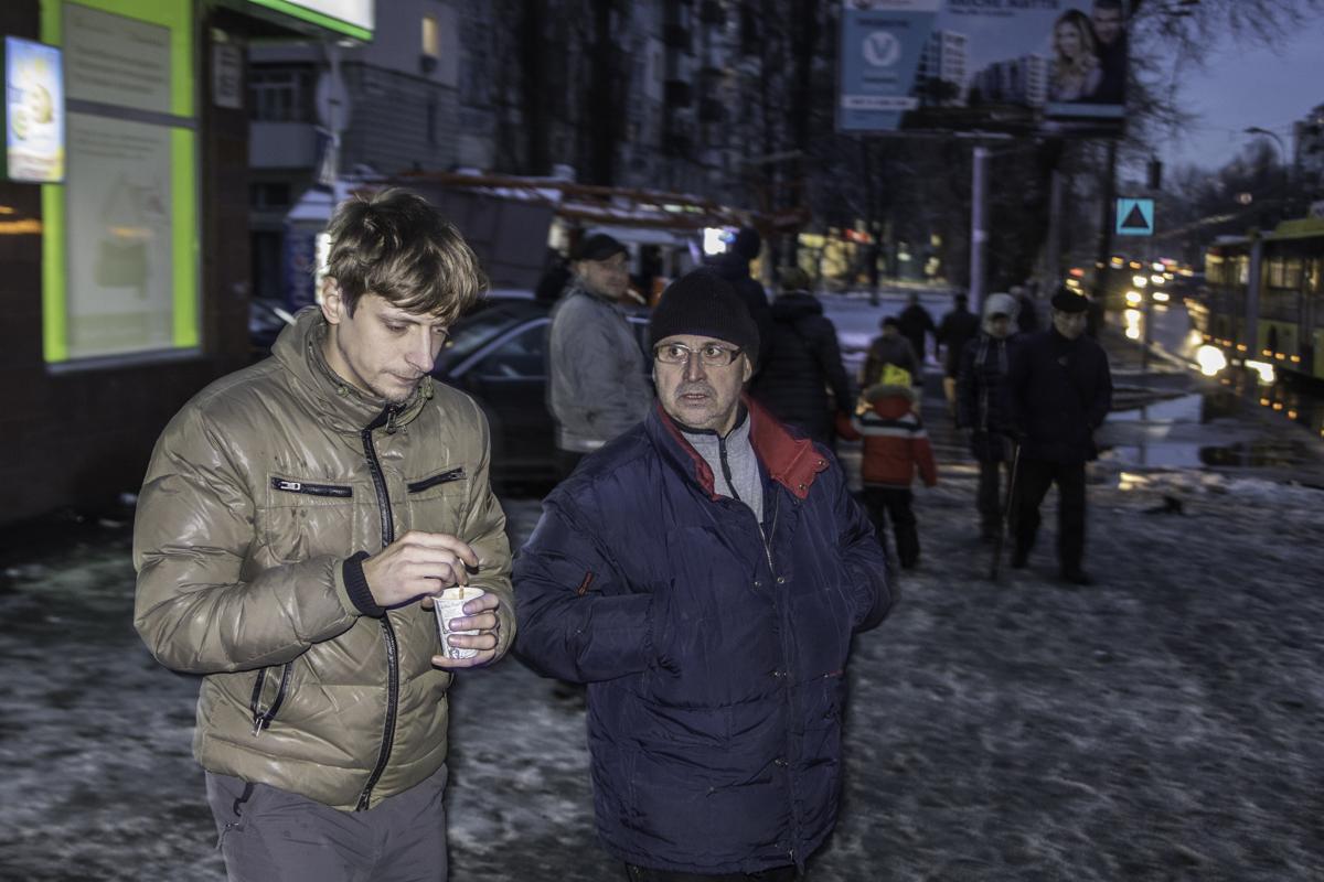 Водитель BMW, 30-летний Алексей (слева) получил сотрясение мозга и ушибы