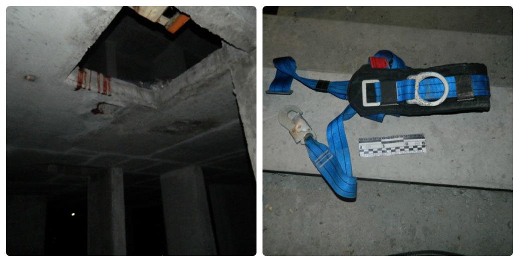 В Киеве с 25 этажа упал строитель
