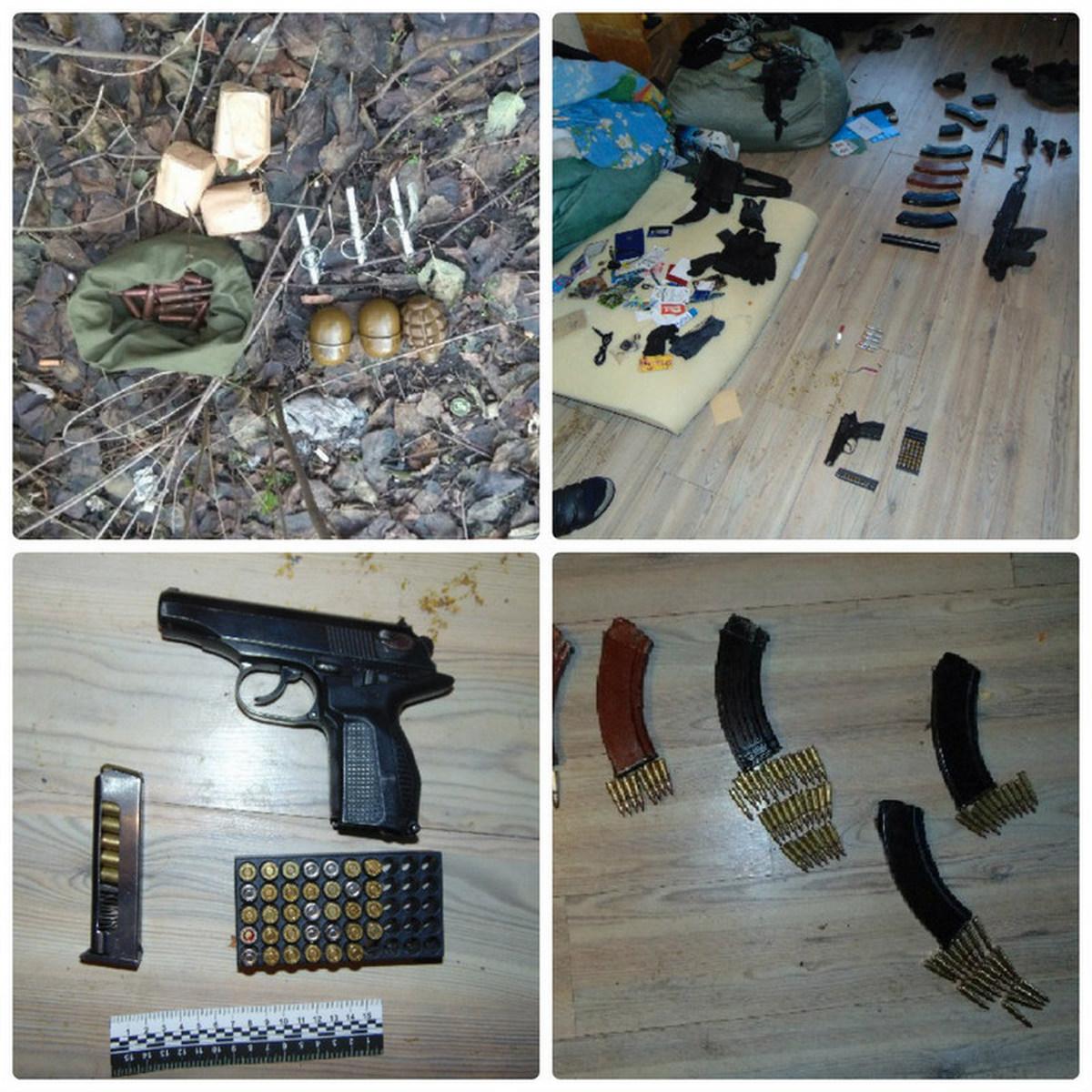 ВКиеве милиция отыскала умужчины крупный арсенал боеприпасов