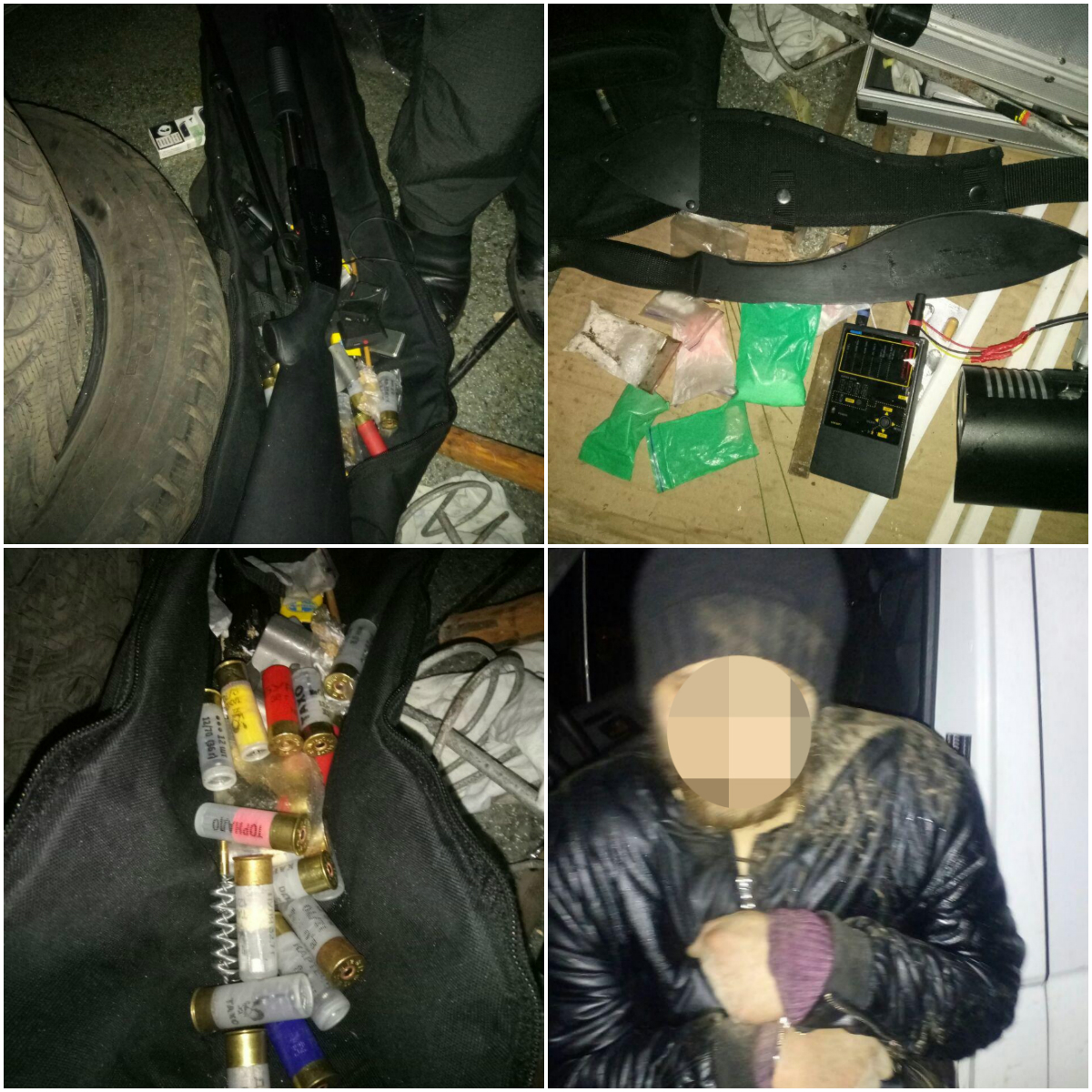 Полиция задержала вооруженного наркомана. Фото: Патрульная полиция