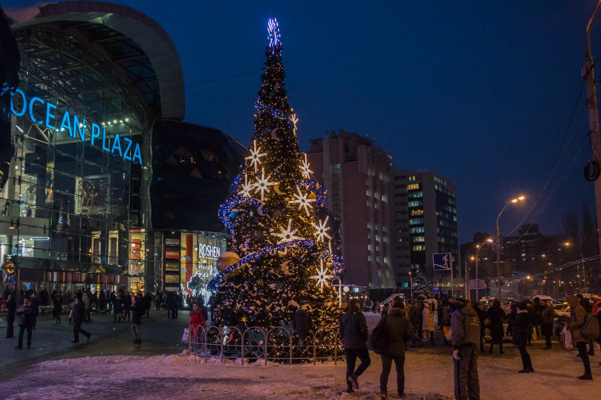 Главная елка Голосеевского района