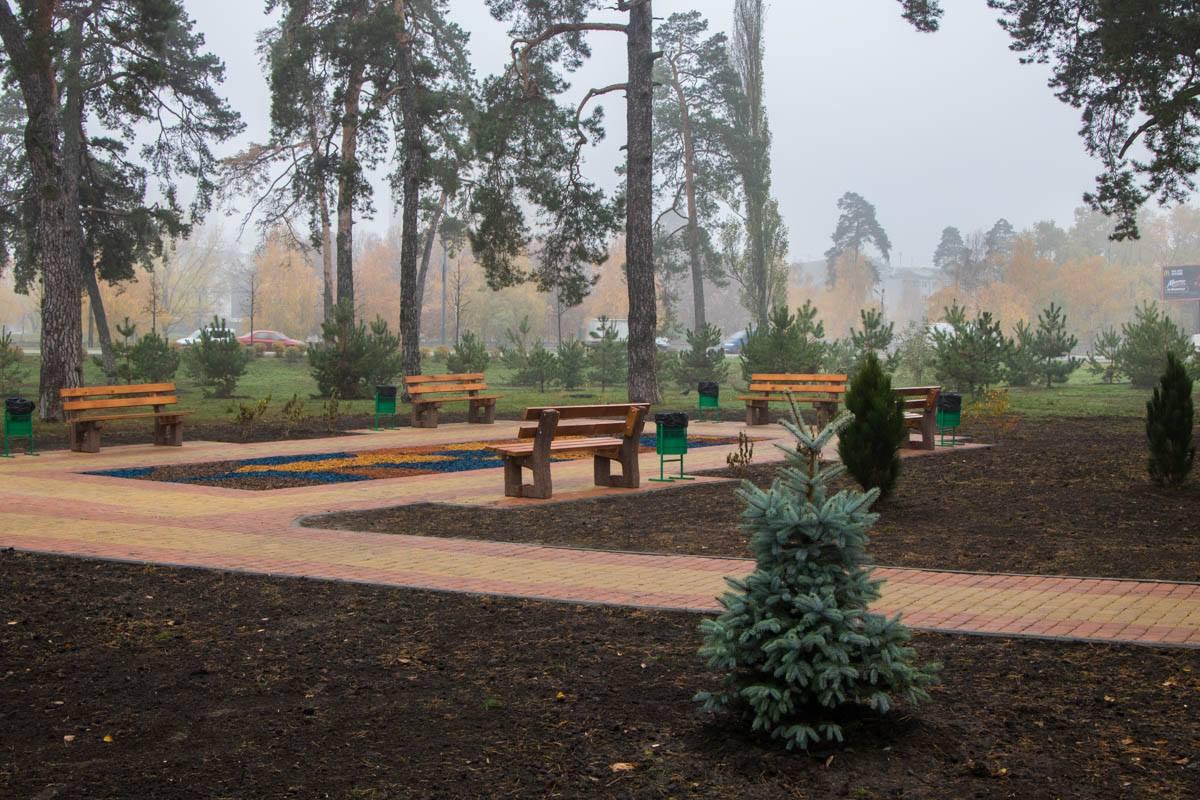 Новая зеленая зона для отдыха в столице