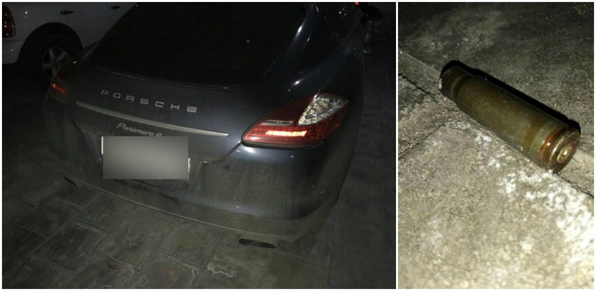 В Киеве из автомата расстреляли автомобили Дениса Гармаша