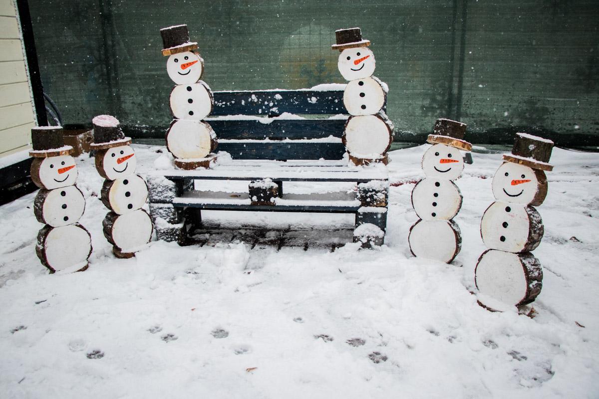 Не забывайте улыбаться и радоваться каждому дню, как эти милые снеговички!