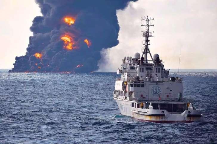 Все члены экипажа злополучного нефтяного танкера погибли