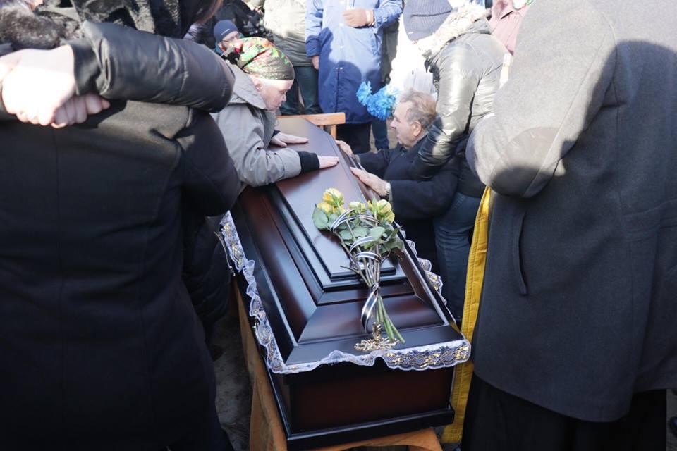 Ноздровская была в закрытом гробу