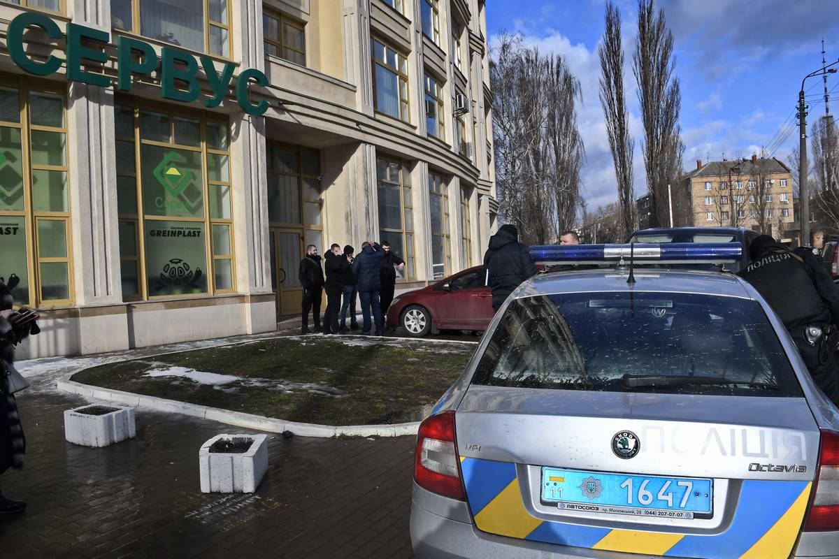 Подозреваемых в стрельбе задержала полиция охраны