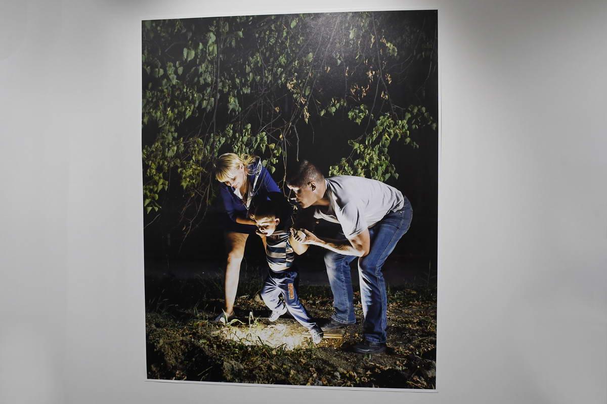 Фотохудожник пытался показать внутреннее состояние украинцев