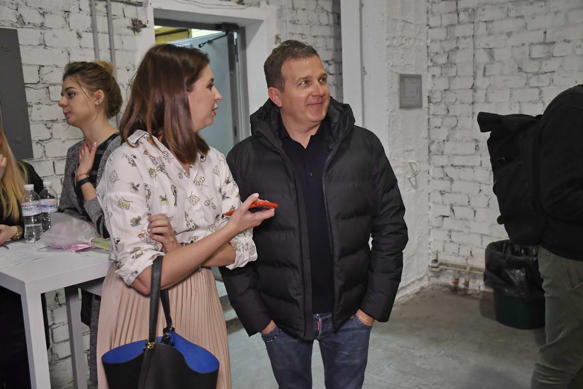 На мероприятие заглянул и телеведущий Юрий Горбунов