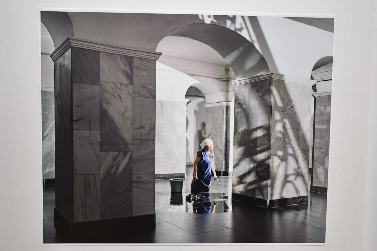 Одна из фотографий выставки