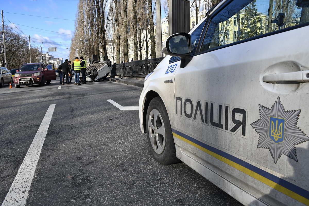 Полиция в ожидании пояснений от водителей