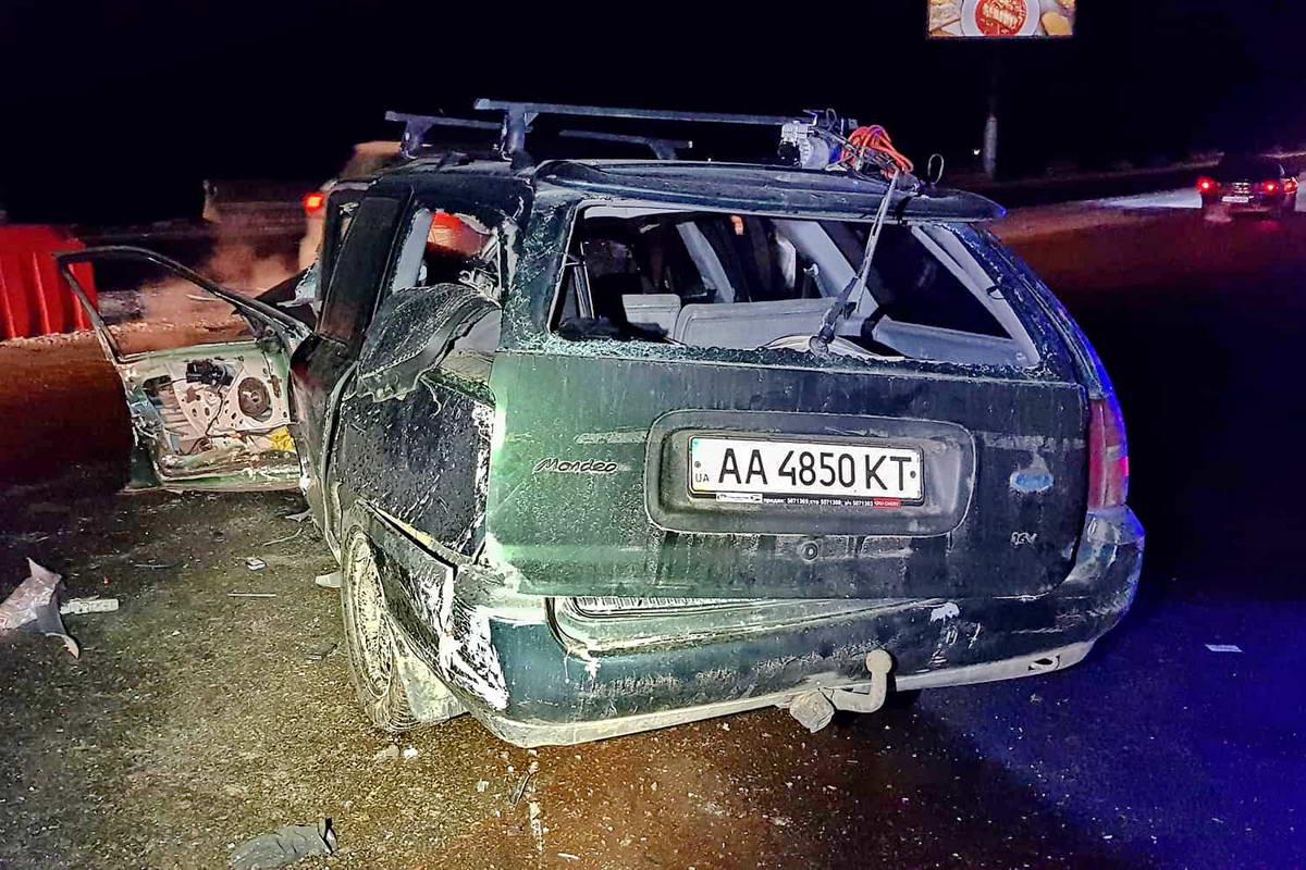 Среди пострадавших - водитель и пассажир авто